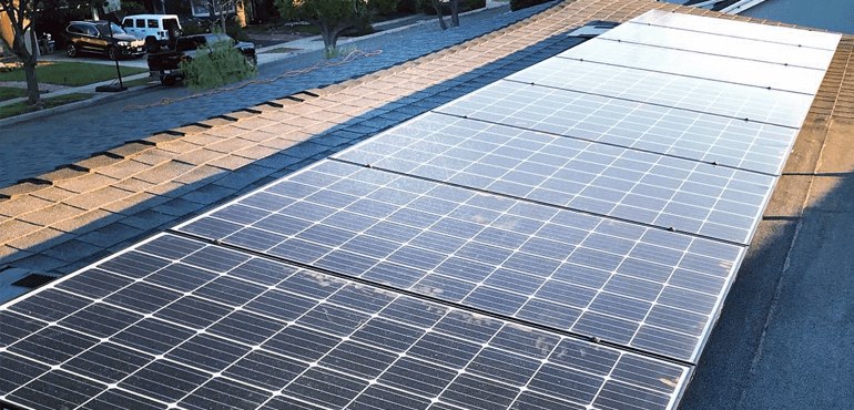 After Solar Panel - All In One Team Solar and Roofing