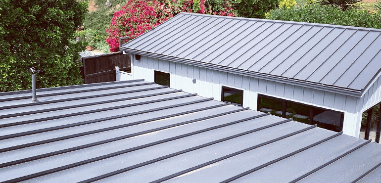 Metal roof - All In One Team Solar and Roofing